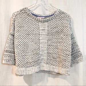 Victoria's Secret / open knit crop sweater